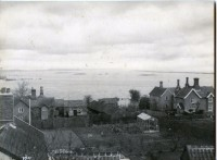 Image of Dunwich during the 1953 flood